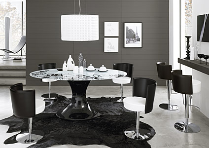 cucine moderne » cucine moderne bianche e nere - ispirazioni ... - Cucine Moderne Bianche E Nere