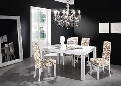Consolle allungabili da salotto for Sedie salotto moderne